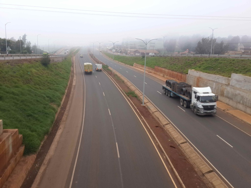 Trucks on Southern Bypass